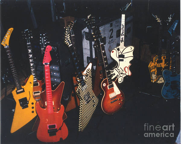 Cheap Trick 93 Guitars Poster By Gary Gingrich Galleries