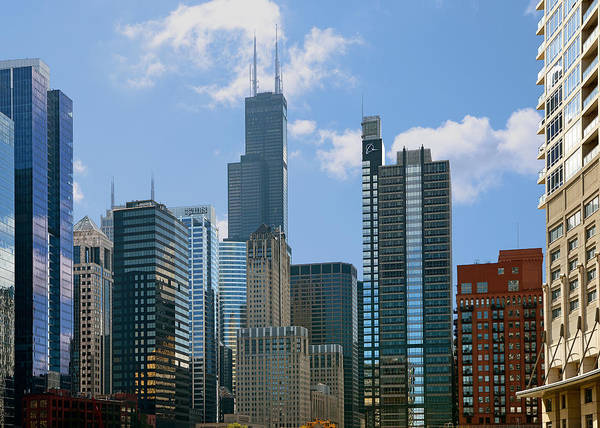 Chicago Poster featuring the photograph Chicago - It's Your Kind Of Town by Christine Till