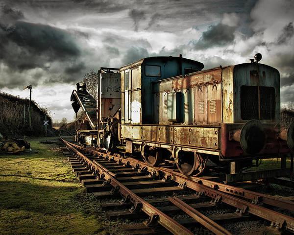 Train Poster featuring the photograph Choo Choo by Jason Green