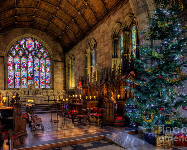 Christmas Poster featuring the photograph Christmas Time by Adrian Evans