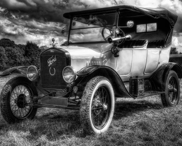 Car Poster featuring the photograph Classic Ford by Jason Green