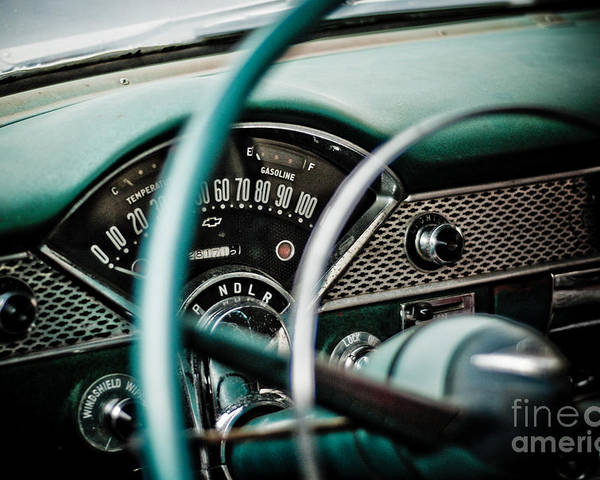 Car Poster featuring the photograph Classic Interior by Jt PhotoDesign