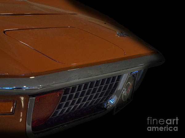 Stingray Series Poster featuring the photograph Classic Stingray by Christian Jansen