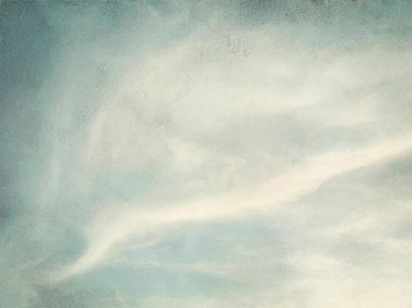 Brett Poster featuring the digital art Cloud Series 6 Of 6 by Brett Pfister