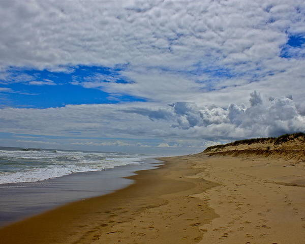 Coast Guard Beach Poster featuring the photograph Coast Guard Beach by Amazing Jules