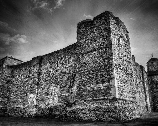 Abbey Poster featuring the photograph Colchester Castle by Svetlana Sewell
