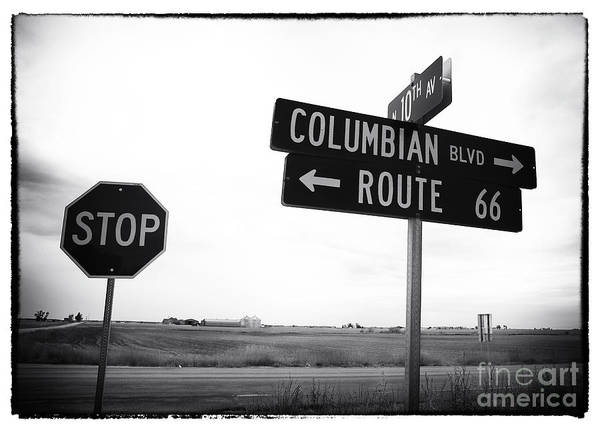 Columbian Boulevard Poster featuring the photograph Columbian Boulevard by John Rizzuto
