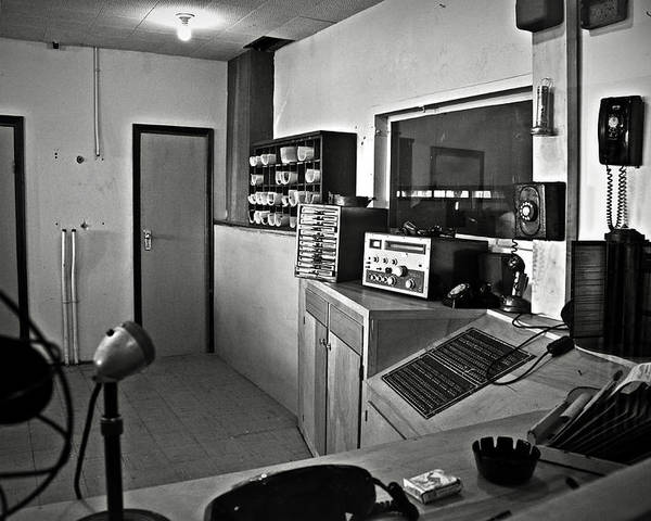 Control Poster featuring the photograph Control Room In Alcatraz Prison by RicardMN Photography