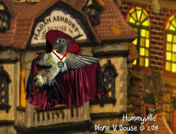 Art Poster featuring the digital art Count Hummula by Diane V Bouse