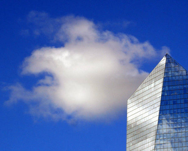 Landscape Poster featuring the photograph Cumulus And Cira by Lisa Phillips