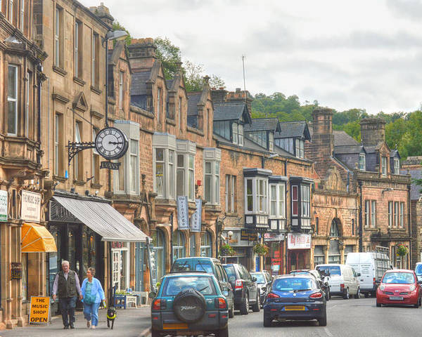 Dale Road Matlock Poster featuring the photograph Dale Road - Matlock by Sarah Couzens