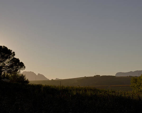 Dawn Poster featuring the photograph Dawn In Cape Town by John Stuart Webbstock
