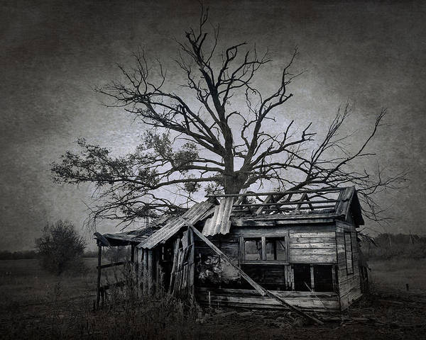 Abandoned Poster featuring the photograph Dead Place by Svetlana Sewell