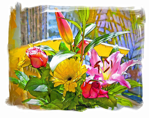 Flowers Poster featuring the photograph December Flowers by Chuck Staley