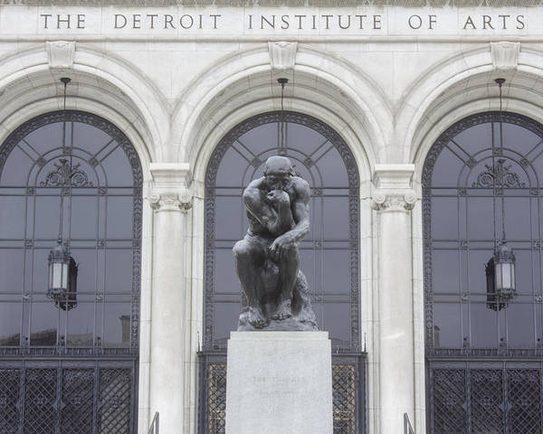 Detroit Poster featuring the photograph Detroit Institute Of Art by John McGraw