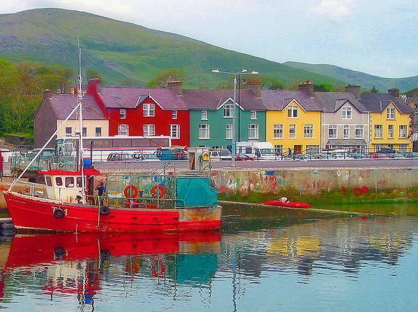 Dingle Poster featuring the photograph Dingle Ireland by Jim McCullaugh
