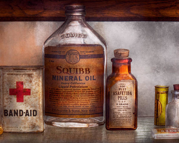 Doctor Poster featuring the photograph Doctor - Pharmacueticals by Mike Savad