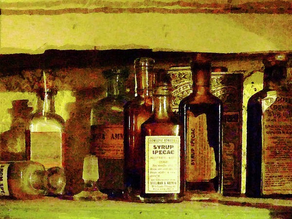 Druggist Poster featuring the photograph Doctor - Syrup Of Ipecac by Susan Savad
