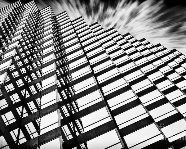 Architecture Poster featuring the photograph Downtown by Scott Pellegrin