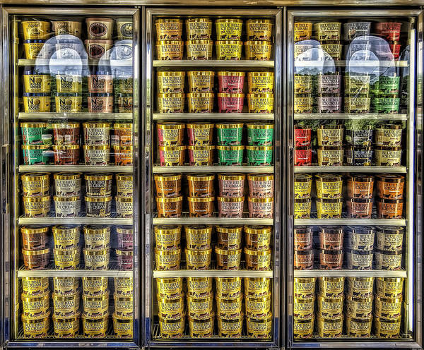 Blue Bell Poster featuring the photograph Dream Fridge by Scott Norris