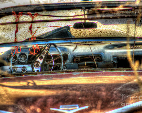 60's Convertible Impala Poster featuring the photograph Dreamcatchers by Thomas Danilovich