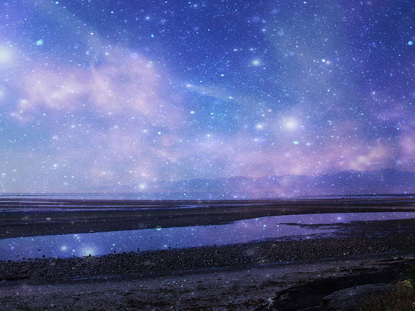 Starry Night Poster featuring the photograph Dreamscape by Marilyn Wilson