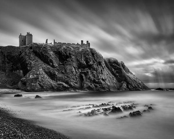 Dunnottar Castle Poster featuring the photograph Dunnottar Castle 2 by Dave Bowman