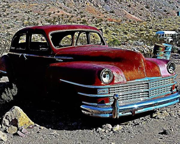 Nevada Poster featuring the photograph End Of The Road by Steve Perry