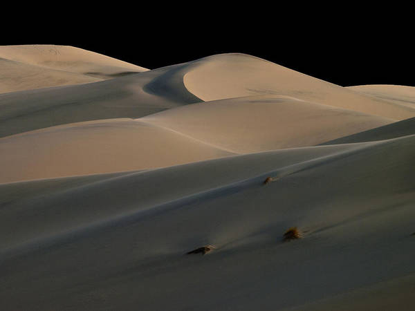 Death Valley Poster featuring the photograph Eureka Dune Dreams by Joe Schofield