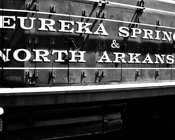 Railroad Poster featuring the photograph Eureka Springs Railroad by Benjamin Yeager