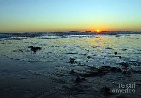 Sunset Poster featuring the photograph Evening Sunset by Kelly Holm