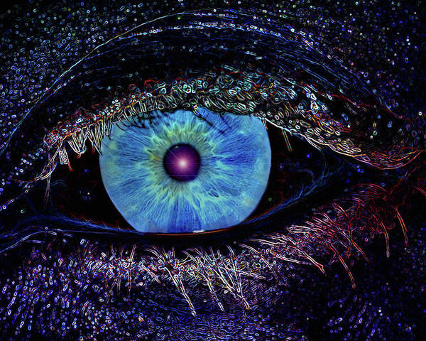 Eye Poster featuring the photograph Eye In The Sky by Joann Vitali