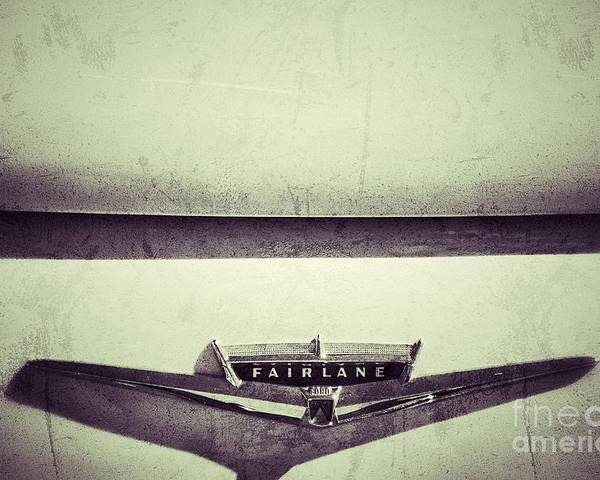 Cars Poster featuring the photograph Fairlane by AK Photography