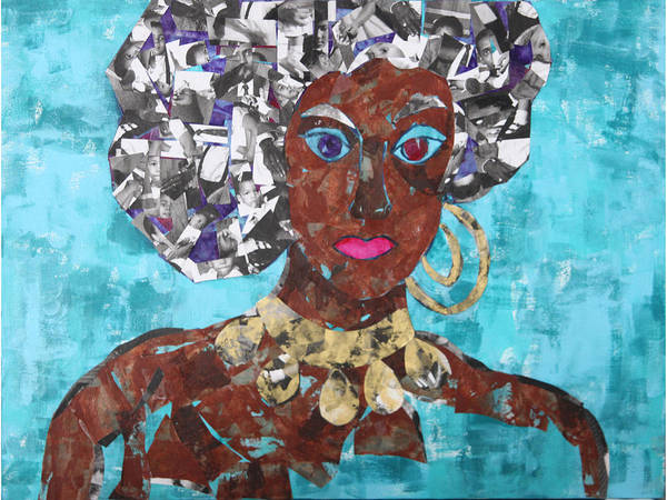 Mixed Media Poster featuring the mixed media Family Jewels by Paula Drysdale Frazell