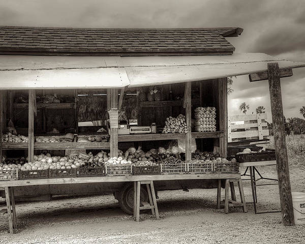 Farm Poster featuring the photograph Farmstand by William Wetmore