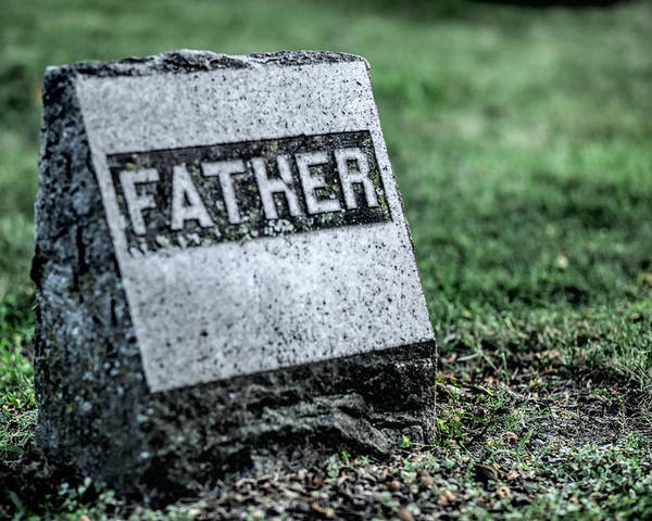 Father Poster featuring the photograph Father by John Crothers