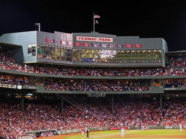 Boston Poster featuring the photograph Fenway Park by Juergen Roth