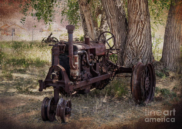Tractor Poster featuring the photograph Field Of Dreams by Janice Rae Pariza