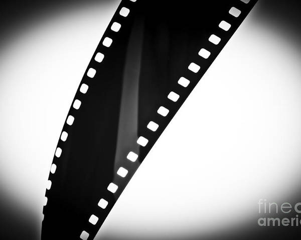 35mm Poster featuring the photograph Film Strip by Tim Hester