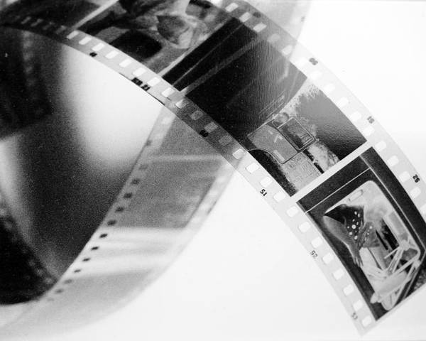 Slide Poster featuring the photograph Film Strip by Tommytechno Sweden