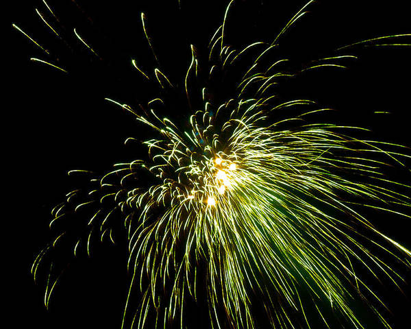 4th Poster featuring the photograph Fireworks by Akash Routh
