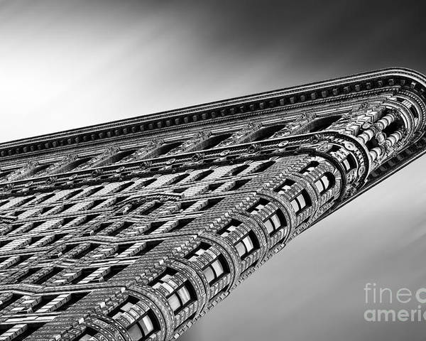 Crazy Nyc Poster featuring the photograph Flatiron Building Nyc by John Farnan