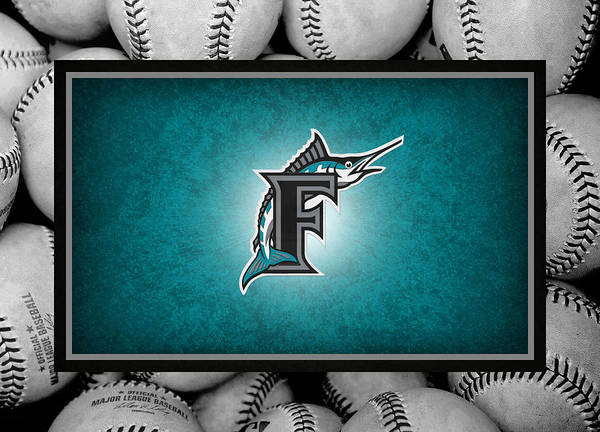 Marlins Poster featuring the photograph Florida Marlins by Joe Hamilton