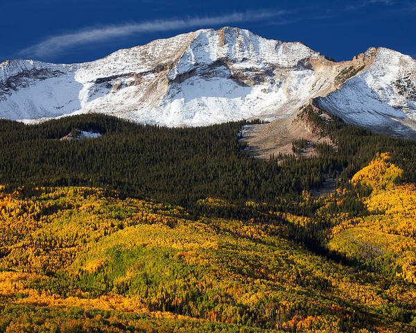 Colorado Landscapes Poster featuring the photograph Foothills Of Gold by Darren White