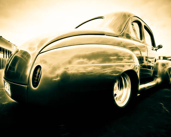 Ford Clubman Poster featuring the photograph Ford Clubman by Phil 'motography' Clark