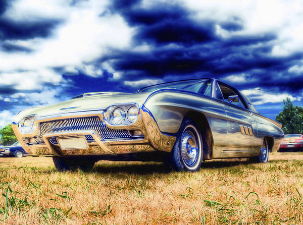 Ford Thunderbird Poster featuring the photograph Ford Thunderbird Hdr by Phil 'motography' Clark