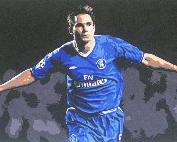 size 40 66c8a e4756 Frank Lampard - Chelsea Fc Poster