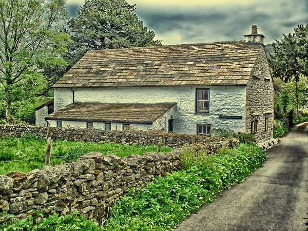 Quaker Poster featuring the photograph Friends Meeting House England by Movie Poster Prints