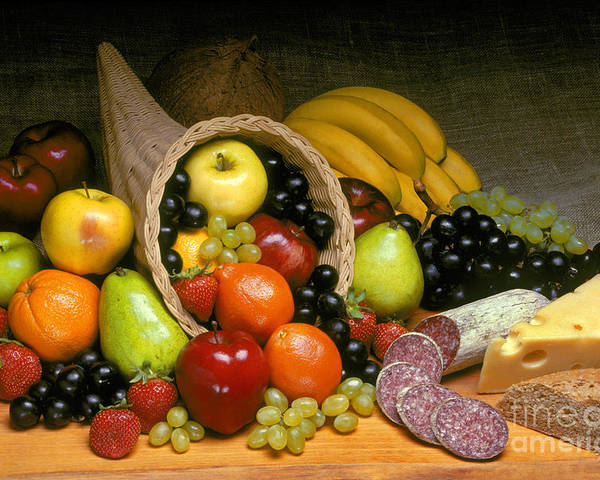 Fruit Poster featuring the photograph Fruit Cornucopia by Craig Lovell