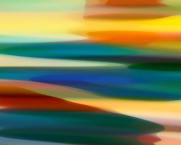 Bold Poster featuring the painting Fury Seascape 7 by Amy Vangsgard